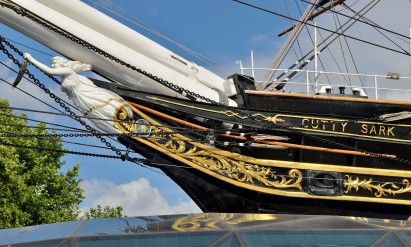 The Figurehead - Cutty Sark - Greenwich