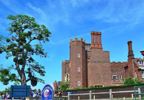 Approaching Hampton Court
