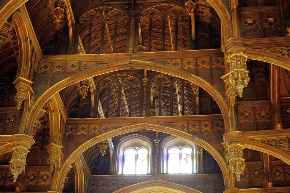 Ornate Ceiling - Hampton Court