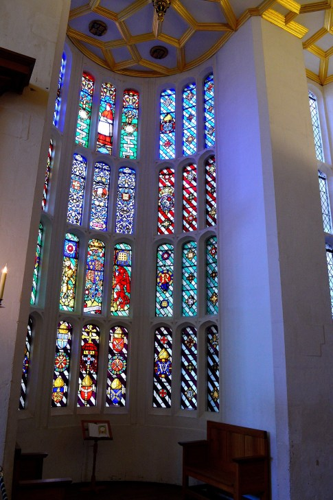 Stained Glass Window - Hampton Court