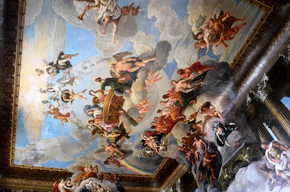 Painted Ceiling - Hampton Court