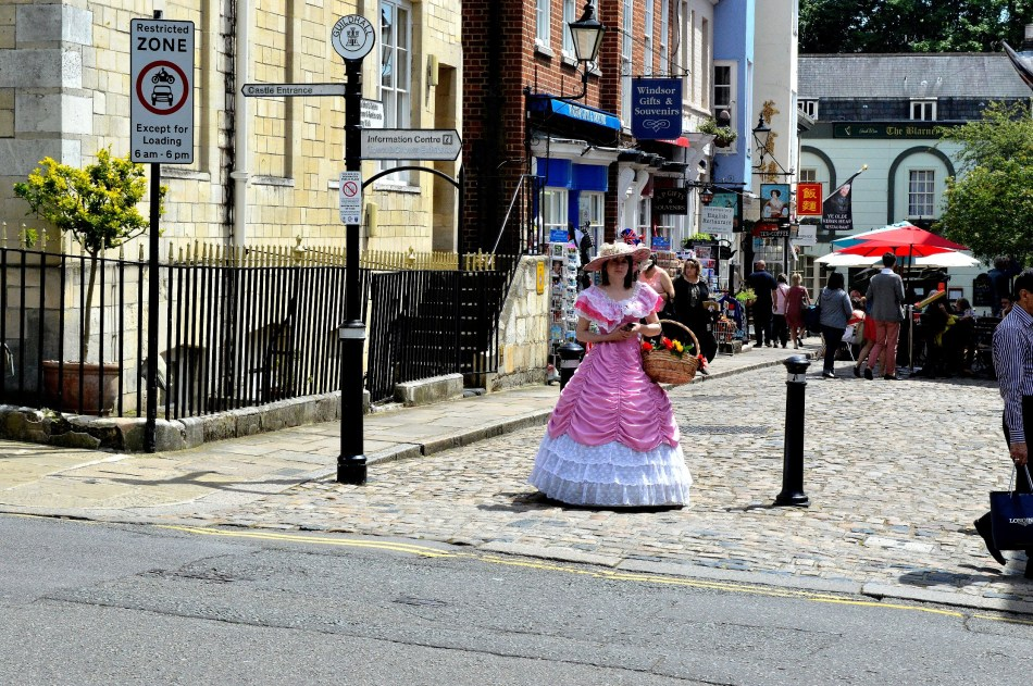 Flower Seller - Windsor