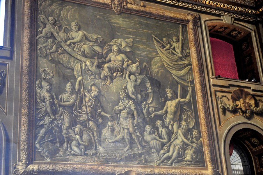 3D Painting - Painted Hall - Naval College - Greenwich
