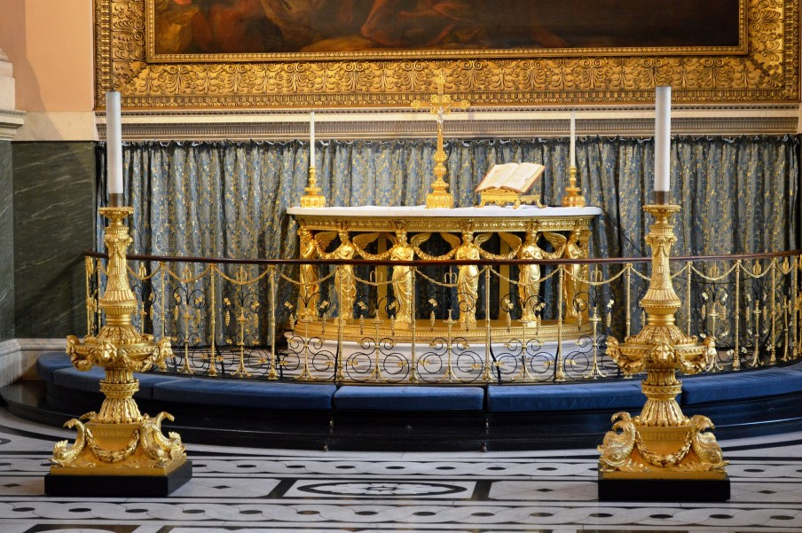 Altar - Chapel - Naval College - Greenwich