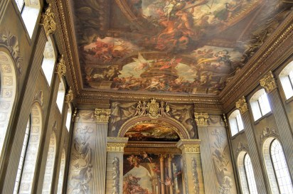 Ceiling - Painted Hall - Naval Colege - Greenwich