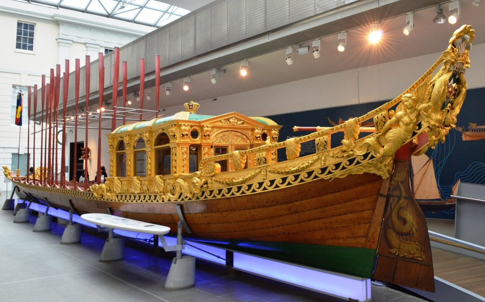 Gold Barge - Maritime Museum.