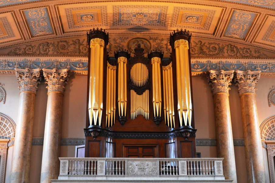 Organ - Chapel - Naval College - Greenwich