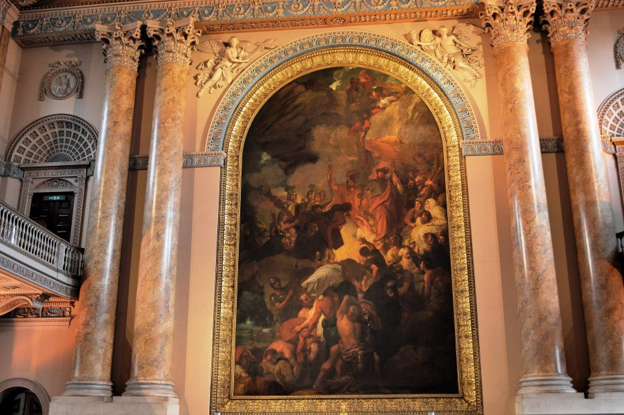 Painting - Chapel - Naval College - Greenwich