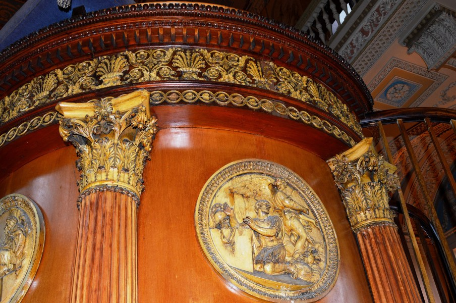 Pulpit - Chapel - Naval College - Grenwich