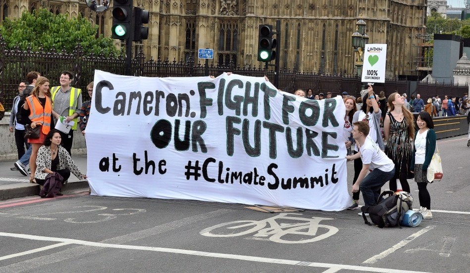 Climate Change Rally London 2014