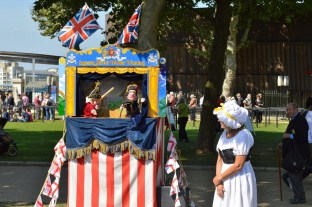 Greenwich Festival Characters Punch and Judy