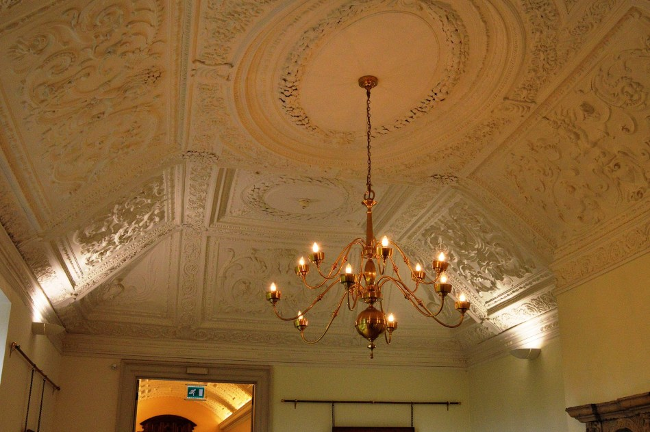 Ceiling at Hall Place