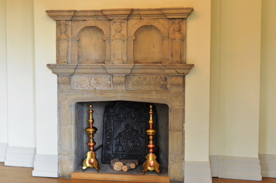 Fire Place at Hall Place