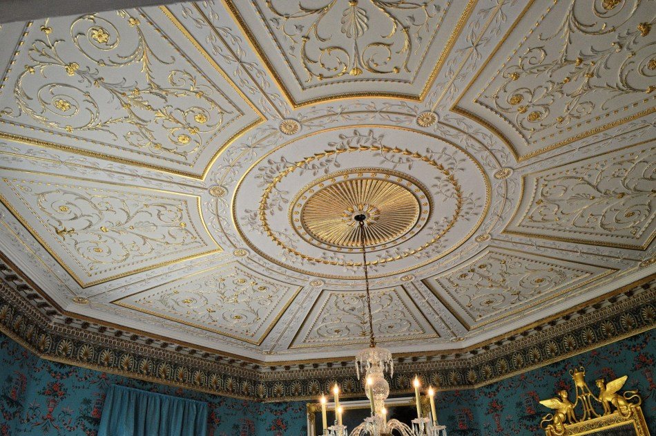 Danson House - Blue Room Ceiling
