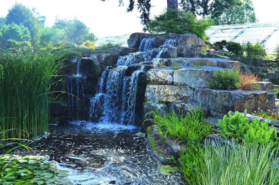 Kew Gardens Japanese Gardens Waterfall