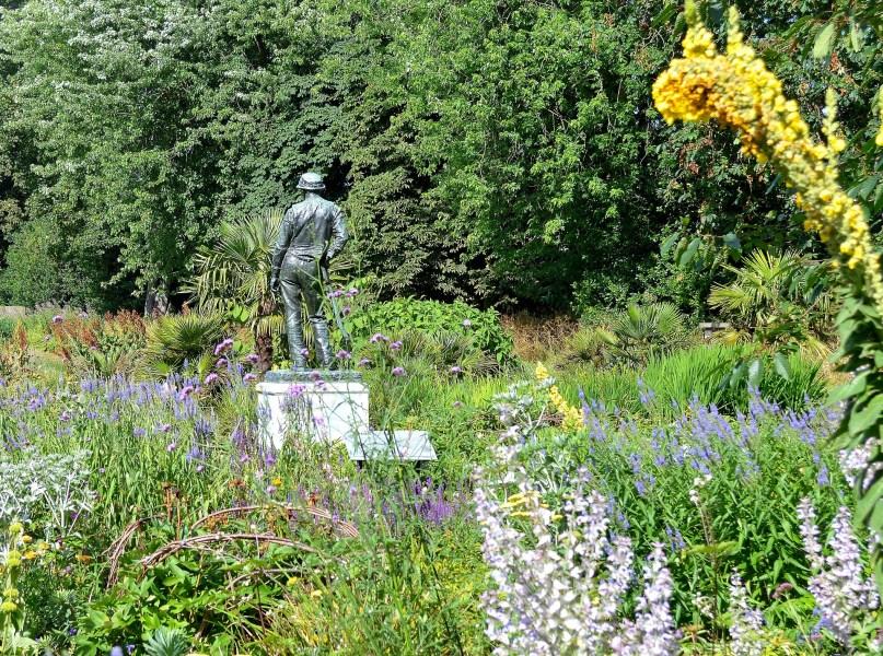 Kew Gardens Statue of Gardener