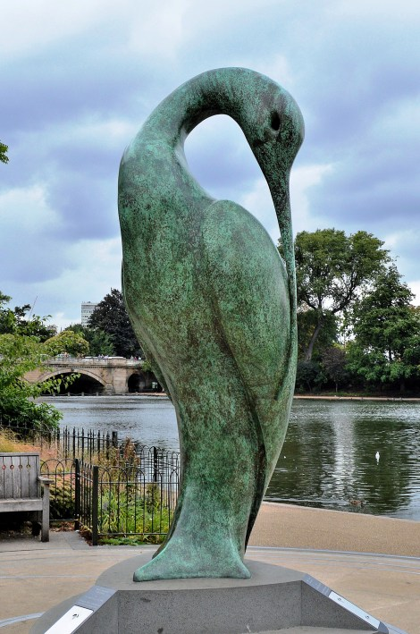 Bird Statue - Kensington Gardens