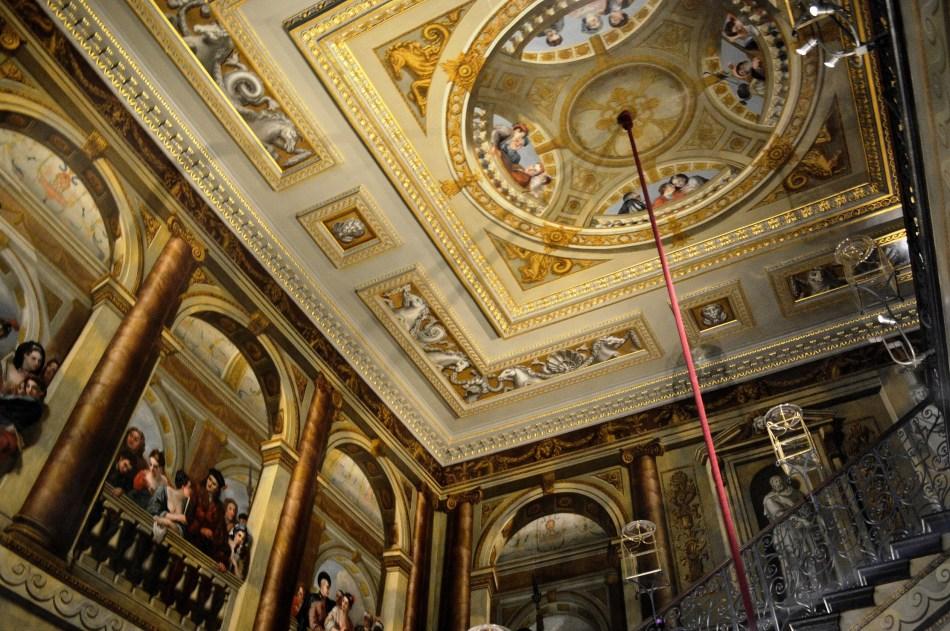 Kensington Palace Ceiling