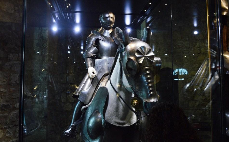 Dark Knight on Horse