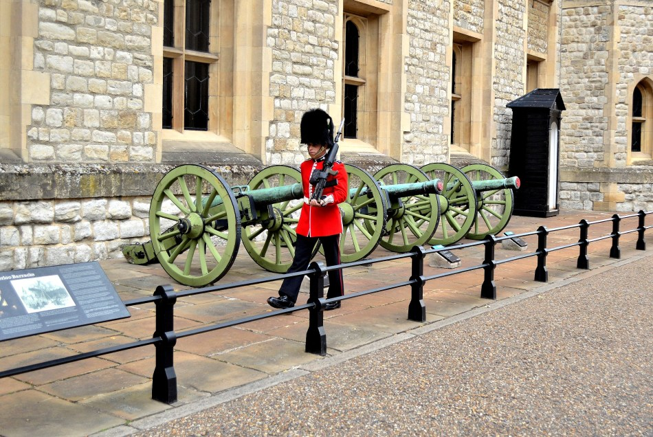 Tower of London - Marching Guard