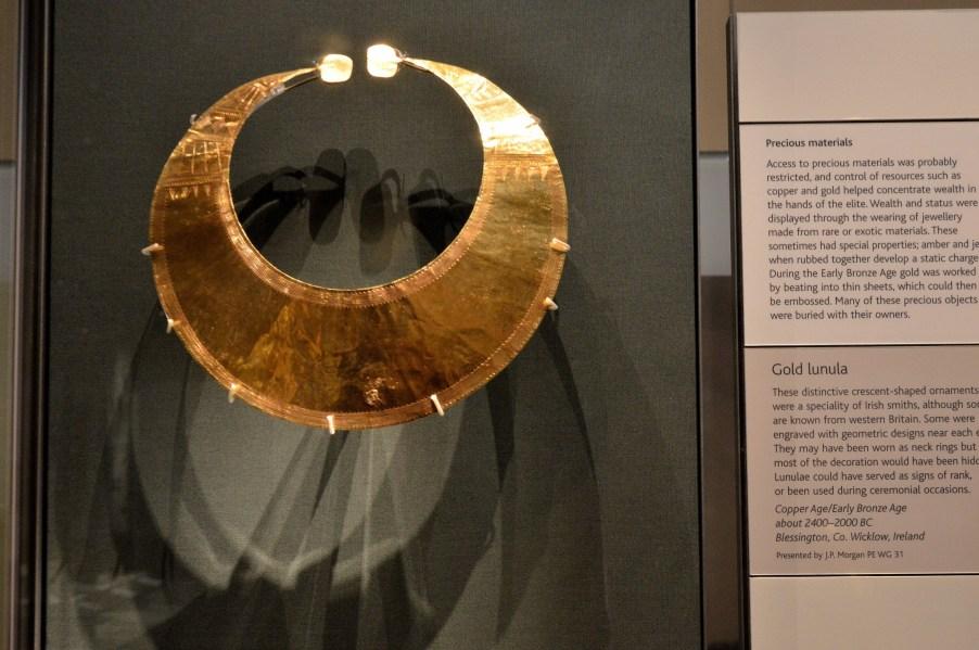 British Museum - Gpld Lanula
