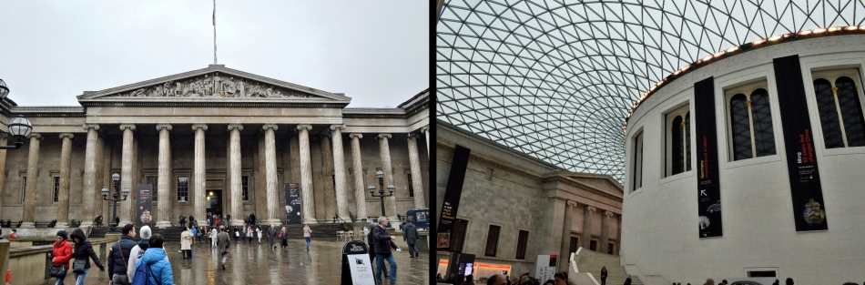 British Museum - Inside and Outside