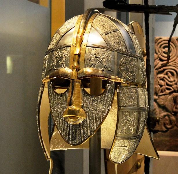 British Museum - Sutton Hoo Helmet 2