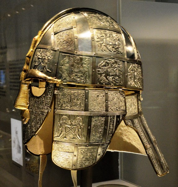British Museum - Sutton Hoo Mask 1