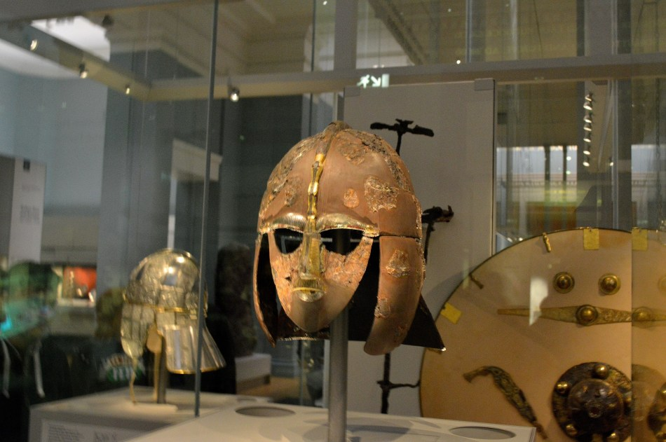 British Museum - Sutton Hoo Original Helmet