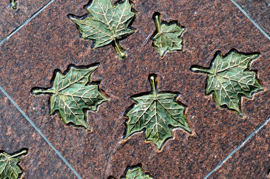 Canada Monument - Closeup