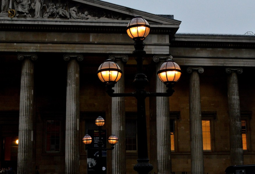 Gas Lamps - British Museume