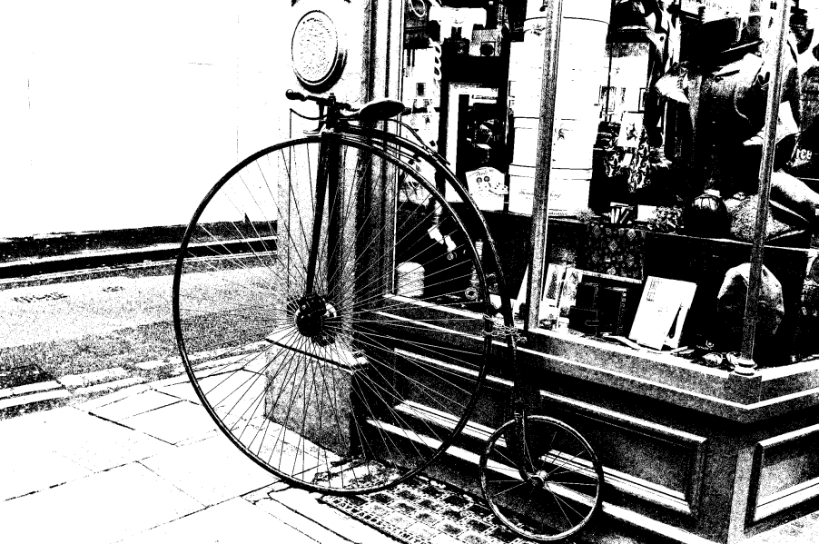 Peny Farthing Bicycle - Aged