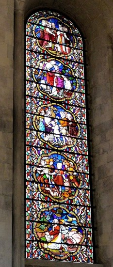 Temple Church Stained Glass 1