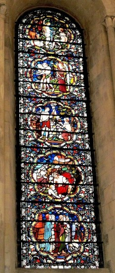 Temple Church Stained Glass 3
