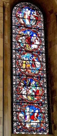 Temple Church Stained Glass 4