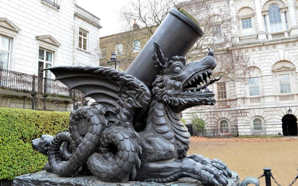 St James Palace - Dragon Cannon