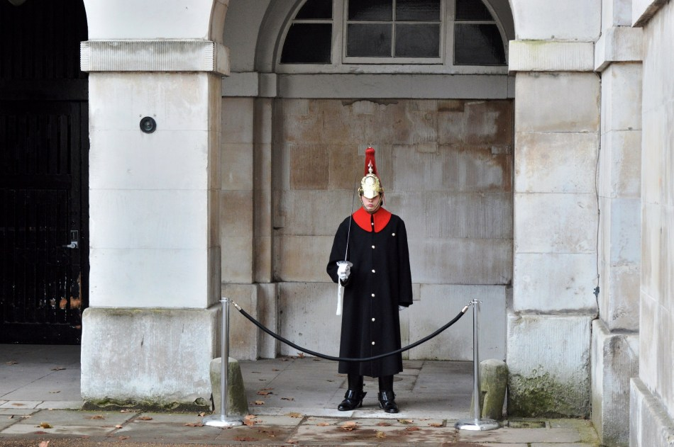 St James Palace - Guard