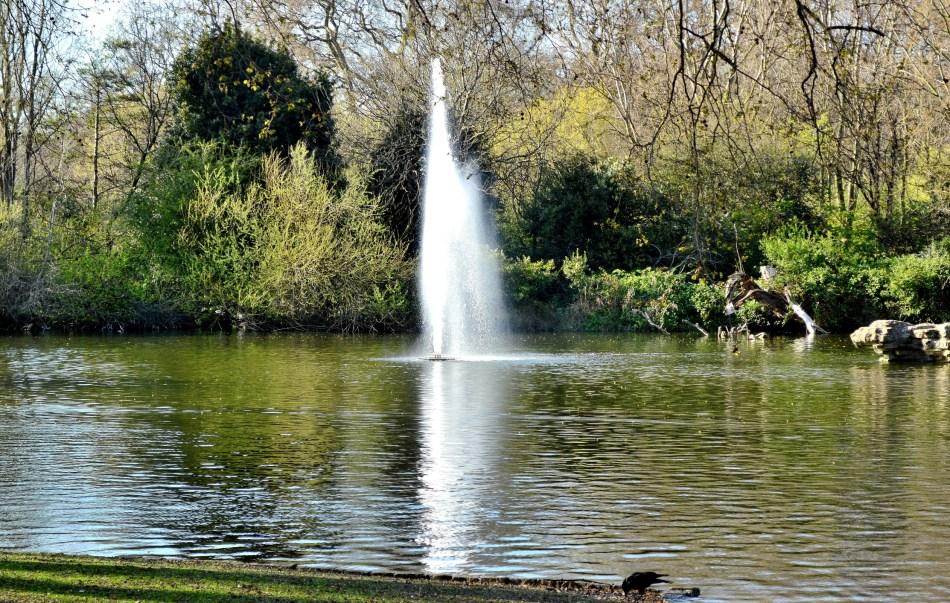 St James Park - East End Fountain 2