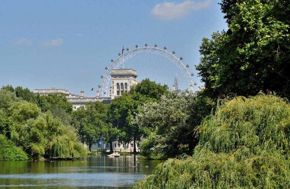 St James Park - London Eye