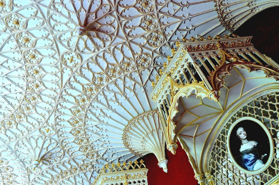Strawberry Hill House - Ceiling 1