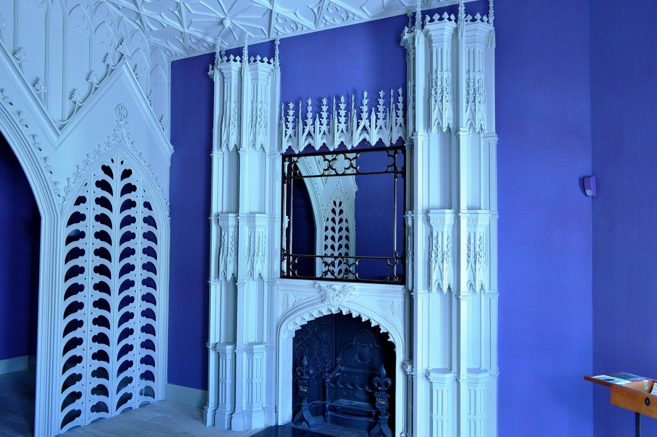 Strawberry Hill House   Fireplace 2