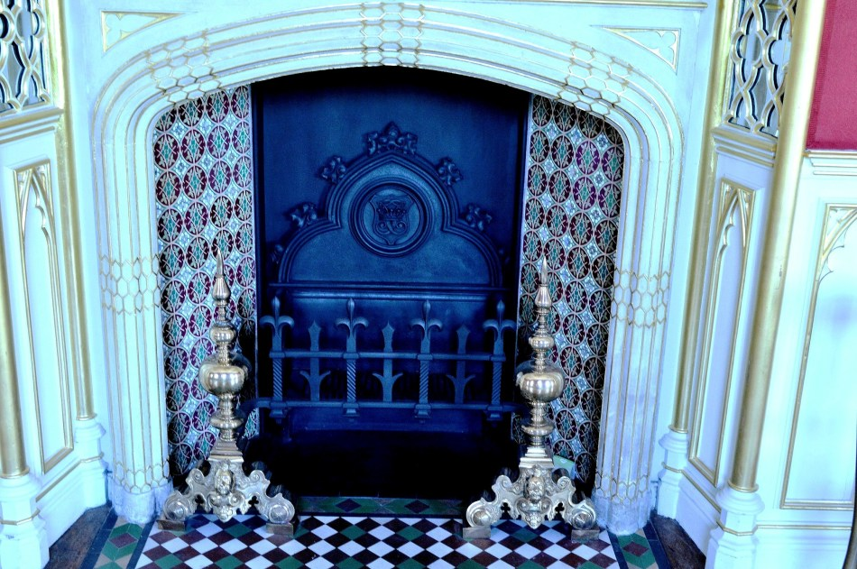 Strawberry Hill House - Fireplace