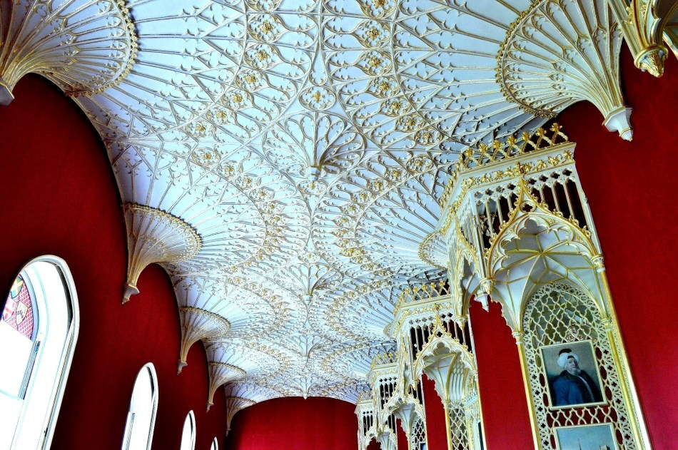 Strawberry Hill House - Gallery Ceiling
