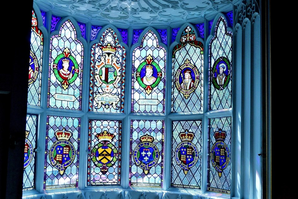 Strawberry Hill House - Stained Glass Window