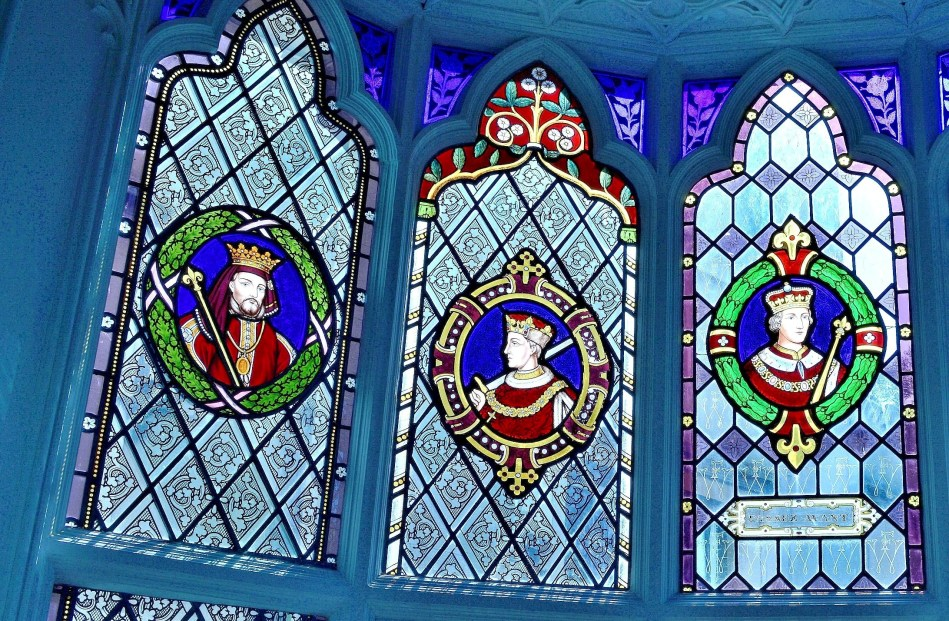 Strawberry Hill House - Stained Glass Winow 2