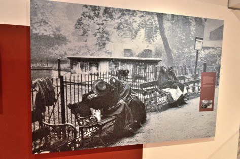 Geffrye Exhibition - Homeless