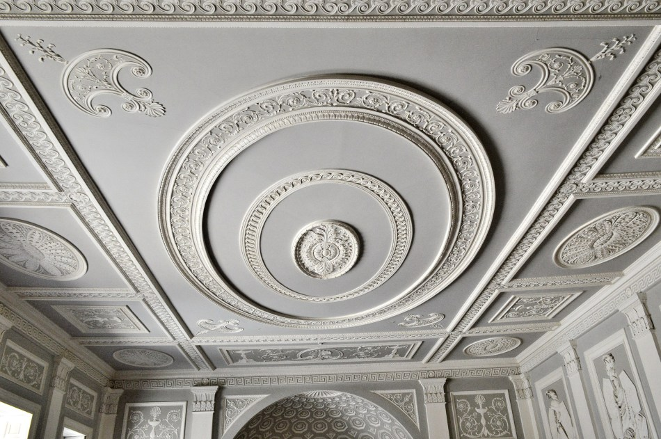 Osterley Park House - Foyer Ceiling