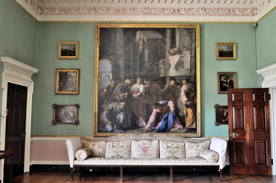 Osterley Park House - Painting and Sofa