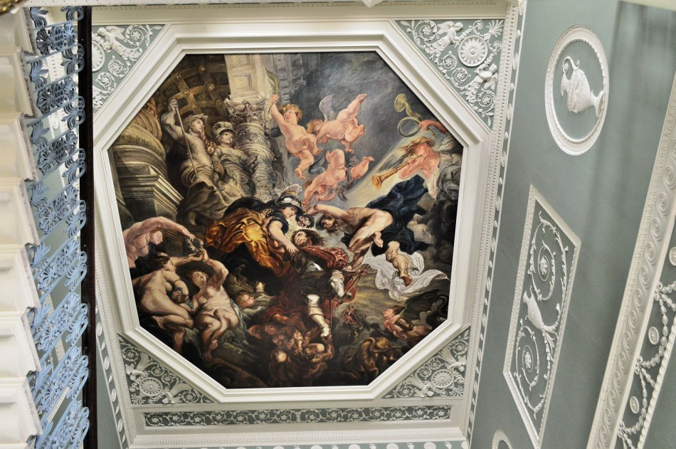 Osterley Park House - Stairwell Ceiling