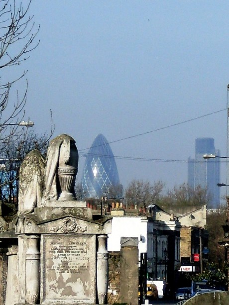 Urn and Gherkin